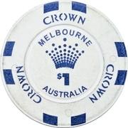 1 dollar - Crown Melbourne – avers