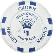 1 dollar - Crown Melbourne – revers