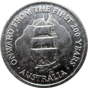 Jeton - Onward From The First 200 Years – avers
