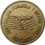 Jeton - Grand Prix de Formule 1 d'Australie (Adélaïde) – avers