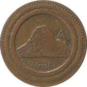 10 centimes A consommer (montagne) – avers