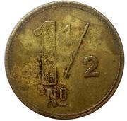 1 ½ shilling - Osborne, Garret & Co (O. G. & Co) – revers