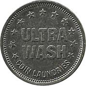 Jeton de laverie - Ultra Wash – revers