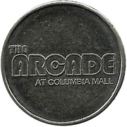 Jeton - The Arcade at Columbia Mall – revers