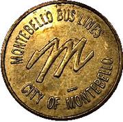 1 Fare- Montebello Bus Lines – avers