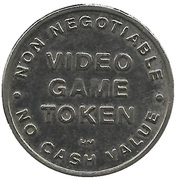 Jeton de jeu vidéo – avers