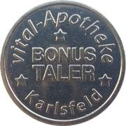 Bonus Taler - Central Apotheke(Karlsfeld) – avers