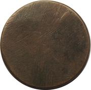 Blank Token (Copper; 21 mm) – revers