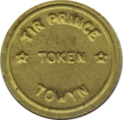 Token - Tir Prince (Towyn) – revers
