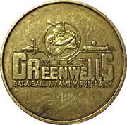 Jeton de jeu - Mike Greenwells Bat-and-ball & Family Fun Park – avers