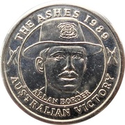 Commemorative Medal - The Courier-Mail (The Ashes) – avers