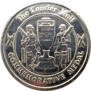 Commemorative Medal - The Courier-Mail (The Ashes) – revers