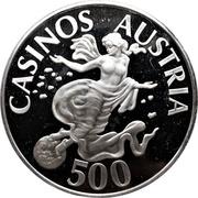 500 schilling - Casinos Austria – avers