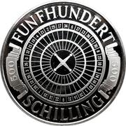 500 schilling - Casinos Austria – revers