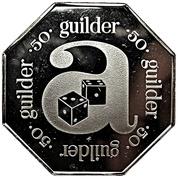 50 guilder - Arusino Casino (Aruba Caribbean Hotel) – revers