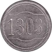 10 pfennig - Wertmarke Imperator – avers