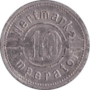 10 pfennig - Wertmarke Imperator – revers