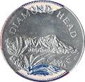 Jeton - Sunoco Landmarks of America (Diamond Head; Instant Winner) – avers