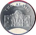 Jeton - Sunoco Landmarks of America (The Alamo) – avers