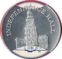 Jeton - Sunoco Landmarks of America (Independence Hall) – avers
