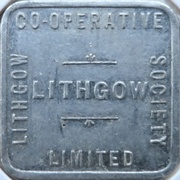 ½ Loaf Bakery Token - Lithgow Co-Operative Society – avers