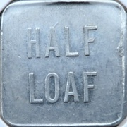 ½ Loaf Bakery Token - Lithgow Co-Operative Society – revers