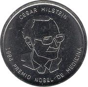 César Milstein (Argentine Heroes of Knowledge) – avers
