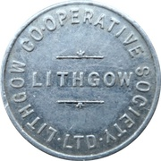 1 Loaf Bakery Token - Lithgow Co-Operative Society – avers