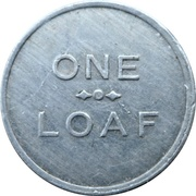 1 Loaf Bakery Token - Lithgow Co-Operative Society – revers