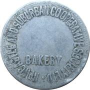 1 Loaf Bakery Token - Newcastle and Suburban Co-operative Society – avers