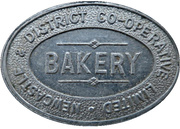 ½ Loaf Bakery Token - Newcastle & District Co-operative Limited – avers