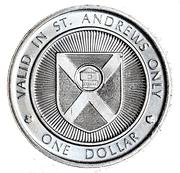 1 Dollar - St. Andrews, New Brunswick (The Blockhouse) – revers