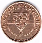 2 euro - Wasquehal (59) – avers
