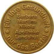 Bonus Taler - Barbara Martins Nilkola Apotheke (Landshut) – avers