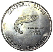 1 dollar - Campbell River, British Columbia (Tyee Plaza) – avers