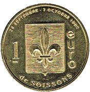 1 euro - Soissons (02) – revers