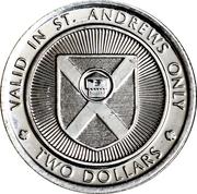 2 Dollars - St. Andrews, New Brunswick (The Blockhouse) – revers
