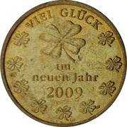 New Year Lucky Token - Viel Glück – revers