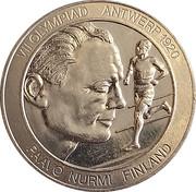 Token - Great Olympic Moments (Paavo Nurmi) – avers