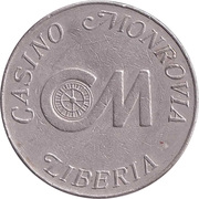 Game Token - Casino Monrovia (50 cent) – avers