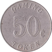 Game Token - Casino Monrovia (50 cent) – revers