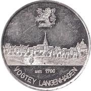 Token - Vogtey Langenhagen – revers