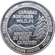 Token - Canada's Northern Wildlife (Grizzly Bear) – avers