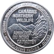 Token - Canada's Northern Wildlife (Bighorn) – avers