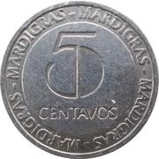 5 Centavos - Casino MardiGras – revers