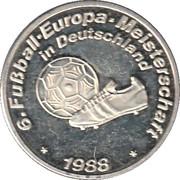 Token - UEFA Euro 1988 – avers