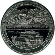 Token - Deutschland (Legends of military equipment - Leopard 2) – avers