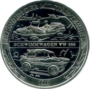 Token - Deutschland (Legends of military equipment - Volkswagen Typ 166 Schwimmwagen) – avers