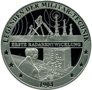 Token - Deutschland (Legends of military equipment - Radars) – avers