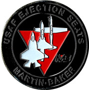 Medallion - Martin Baker (USAF Ejection Seats) – revers
